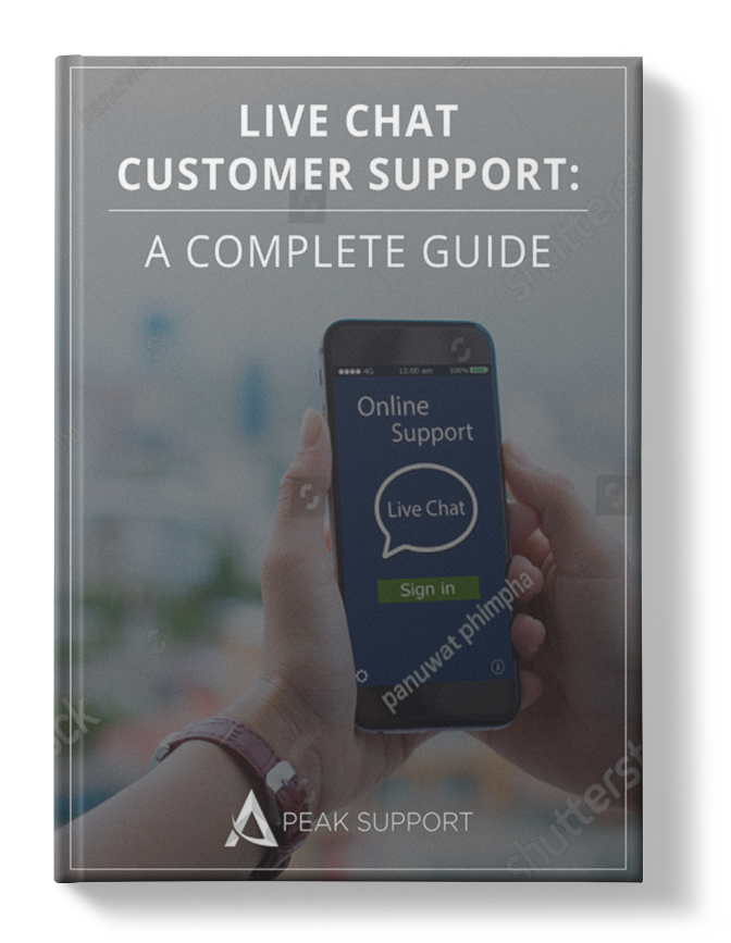 Live Chat Customer Support A Complete Guide Mockup Shadow